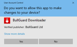 How to isntall BullGuard on PC step 2